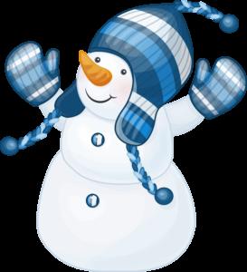 snowman_png9933